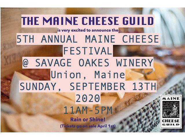 Maine Cheese Festival 2020!
